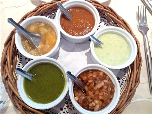 Different types of Chutneys