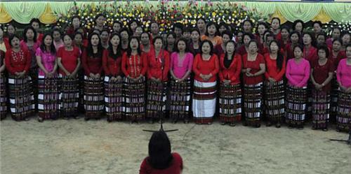 Wedding in Aizawl