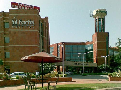Fortis Hospital in Ajitgarh