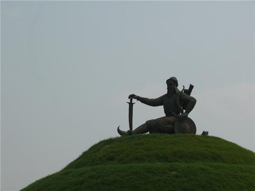 Staue of Baba Banda Singh Ji Bahadur