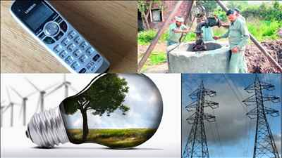Utility and Services in Ajitgarh