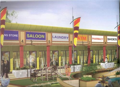 Shopping Complex in sector 114 in Ajitgarh