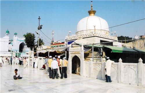 The View of the Ajmer Sharif Dargah at Ajmer-Credit Google