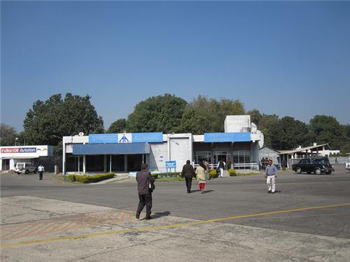 Bamrauli airport in Allahabad
