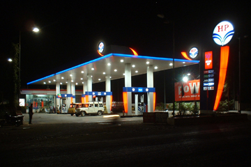 Petrol pumps in Alwar