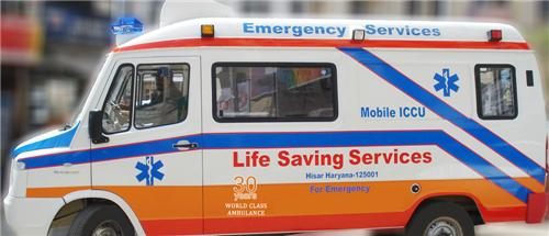 Ambulances in Ambala