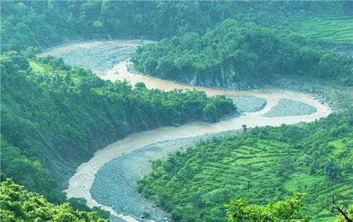 Ghaggar River Ambala