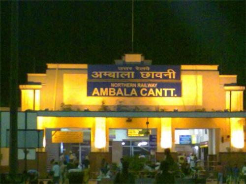 Railways in Ambala