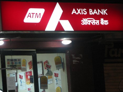 Location of Axis Bank Branches in Anand