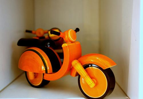 Wooden toys from Andhra Pradesh