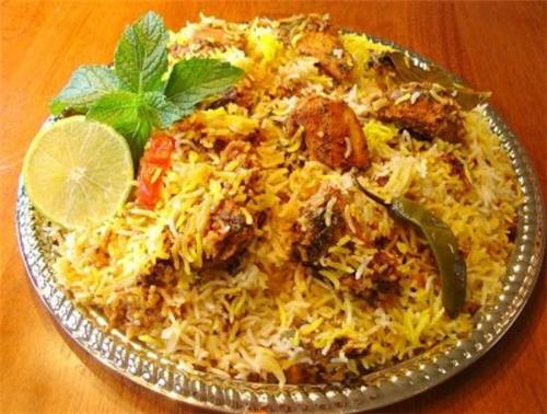 Hyderabadi Biryani served in Rajahmundry