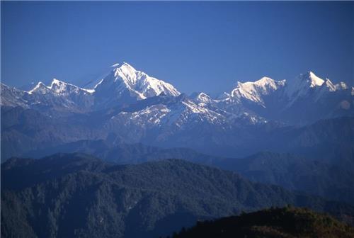 Kangto peak