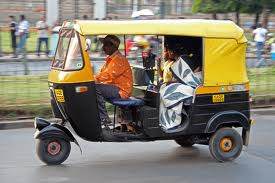 Auto-Rickshaws and Cycle-Rickshaws in Asansol