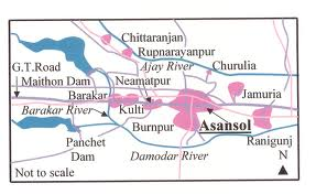 Geography of Asansol