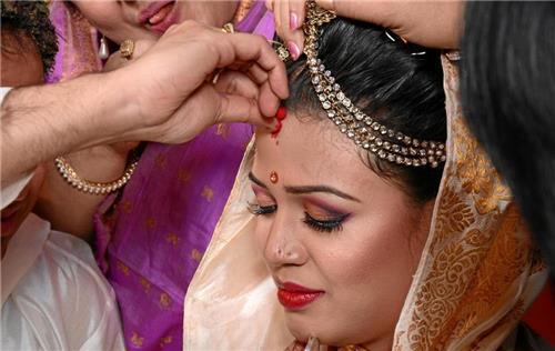 Pre Wedding Assamese ritual