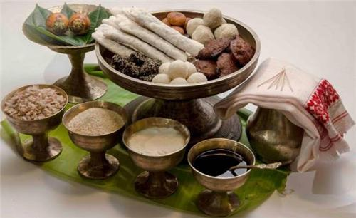 sweet dishes of assam