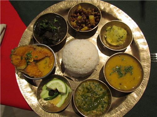 Savor the ethnic Assamese food
