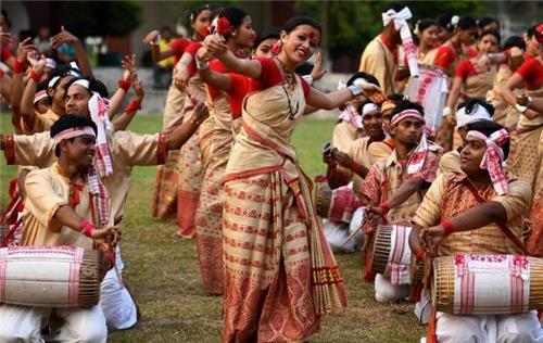 Dance & Music in Golaghat