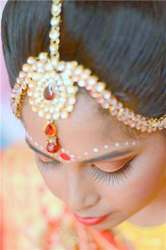 Sima Hatibaruah Bridal Makeup