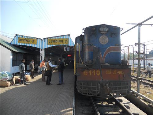 Lumding railway