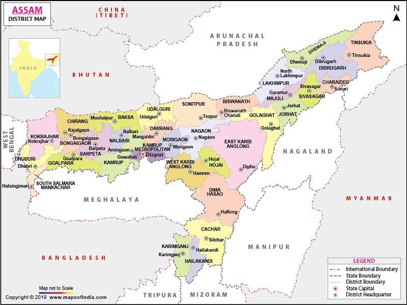 Assam in India