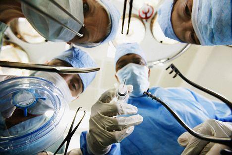 Doctors at Surgery