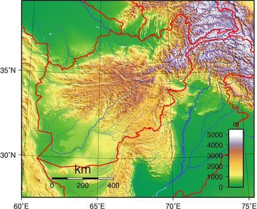 Topography Batala