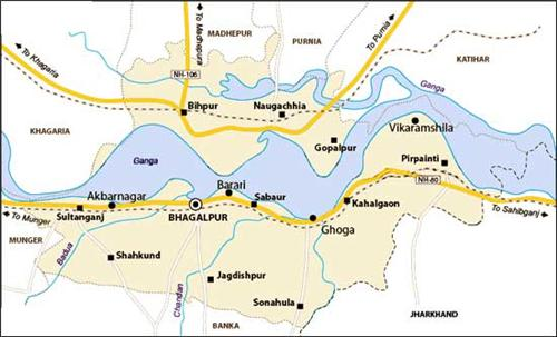 Geography of Bhagalpur