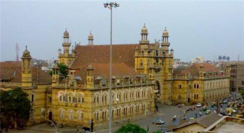 Mangalsinhji Mahal Palace in Bhavnagar