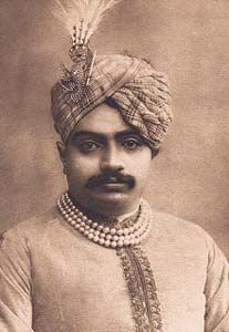 Maharaja Bhavsinhji Gohil