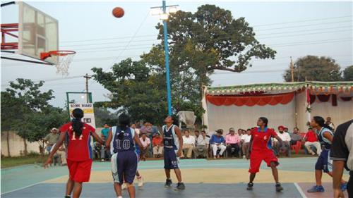 Basketball in Bhilai