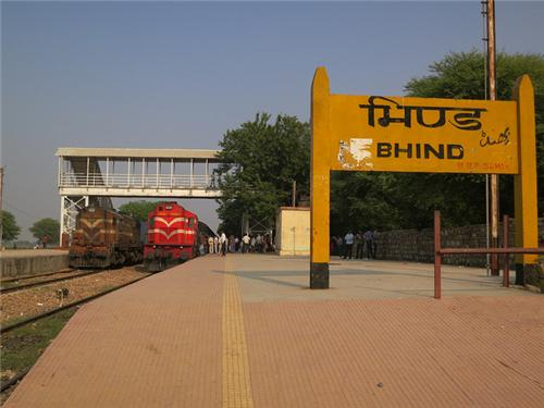 Transportation in Bhind