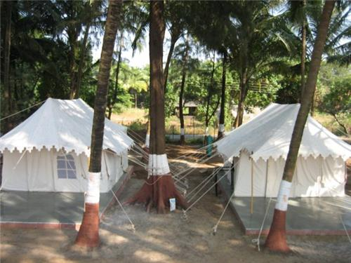 Tent Holiday on Kihim Beach
