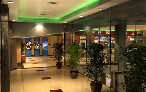 Stylish interiors of Bhiwani City Mall