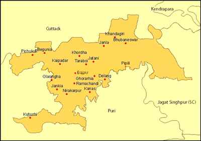 Geography of Bhubaneswar