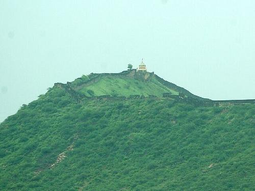 About Bhujiya Hill Fort