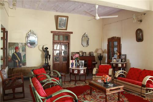 Inside the Darbargadh Palace in Bhuj