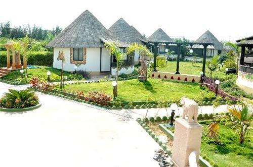 The beauty of Ryan Resort in Bhuj