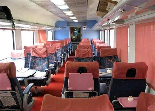 Trains from Bhuj