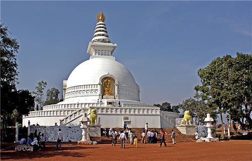 Rajgir Peace Pagoda - Rajgir, Bihar