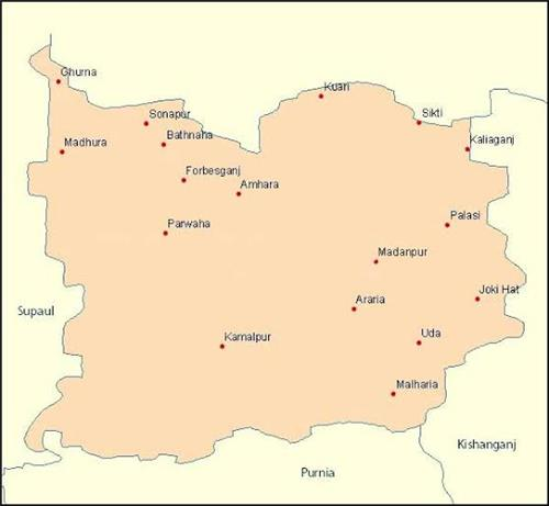 Geography of Araria