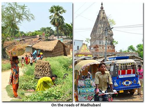 Tourist places in Madhubani