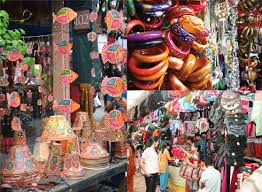 Shopping in Madhubani, Bihar