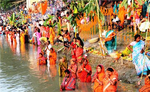 Chhath Puja Celebrations in Motihari