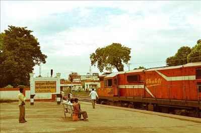 Railways in Motihari
