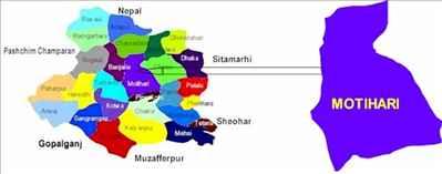 Geography of Motihari