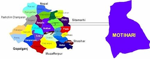 Geography of Motihari