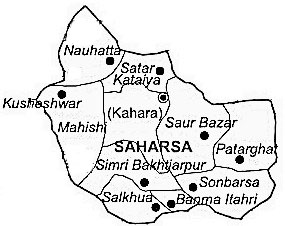 Geography of Saharsa