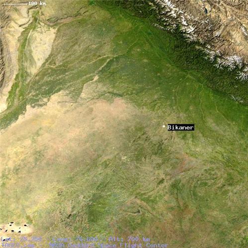 Geography of Bikaner