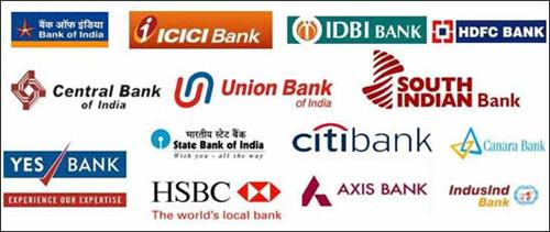 Logo of various banks in Bokaro